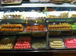 Sweets to tempt you as you enter… and leave Mughals